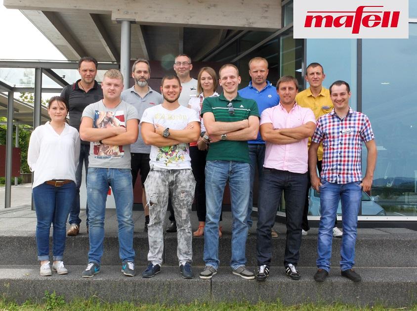 Посещение завода Mafell