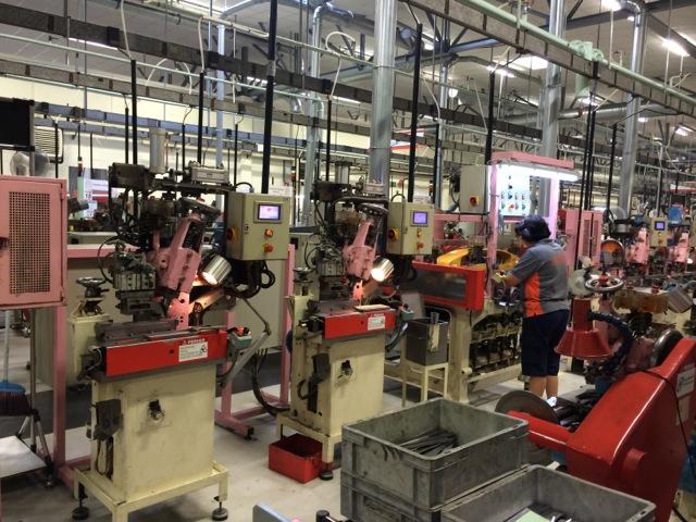 Посещение завода Bahco