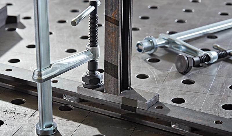 Классные струбцины BESSEY для сварочных столов для крутых сварщиков