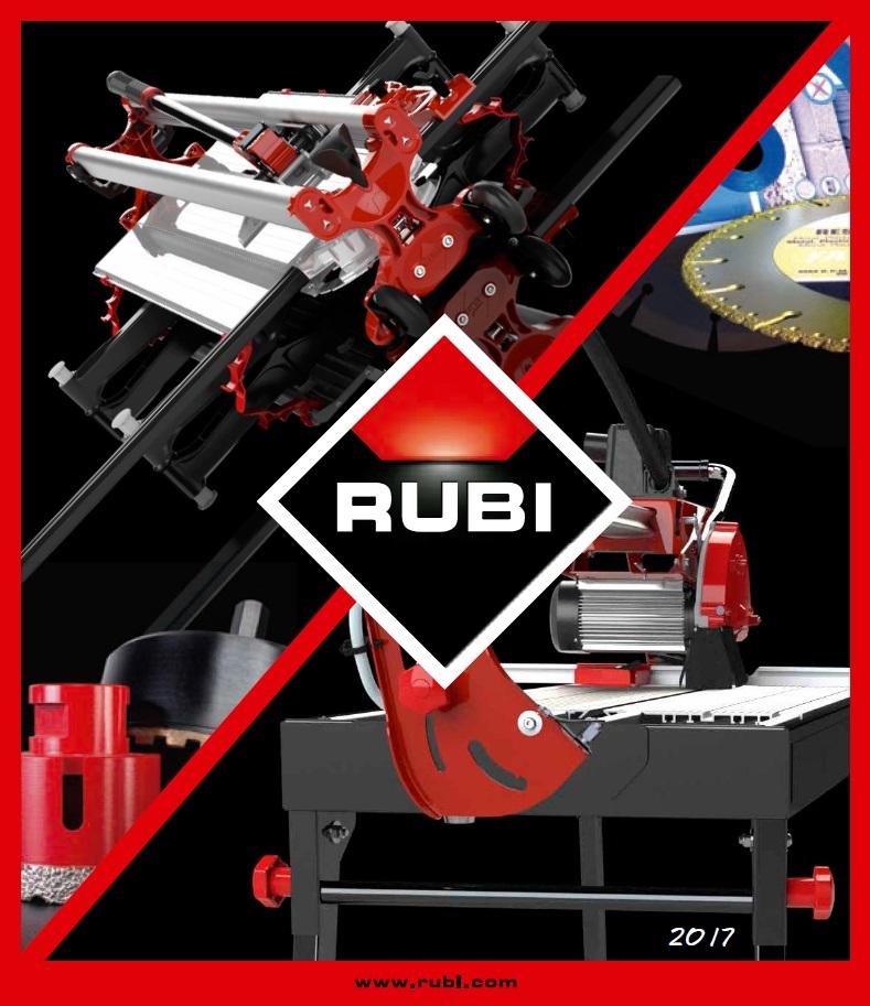Каталог оборудования RUBI 2017