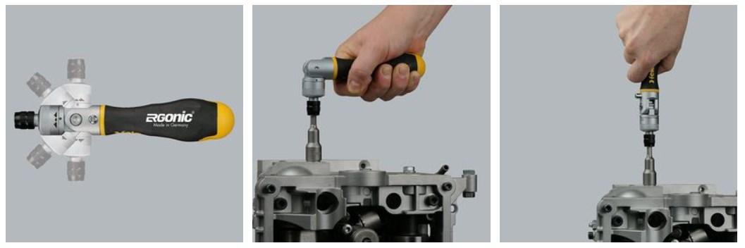 инструменты серии ERGONC K